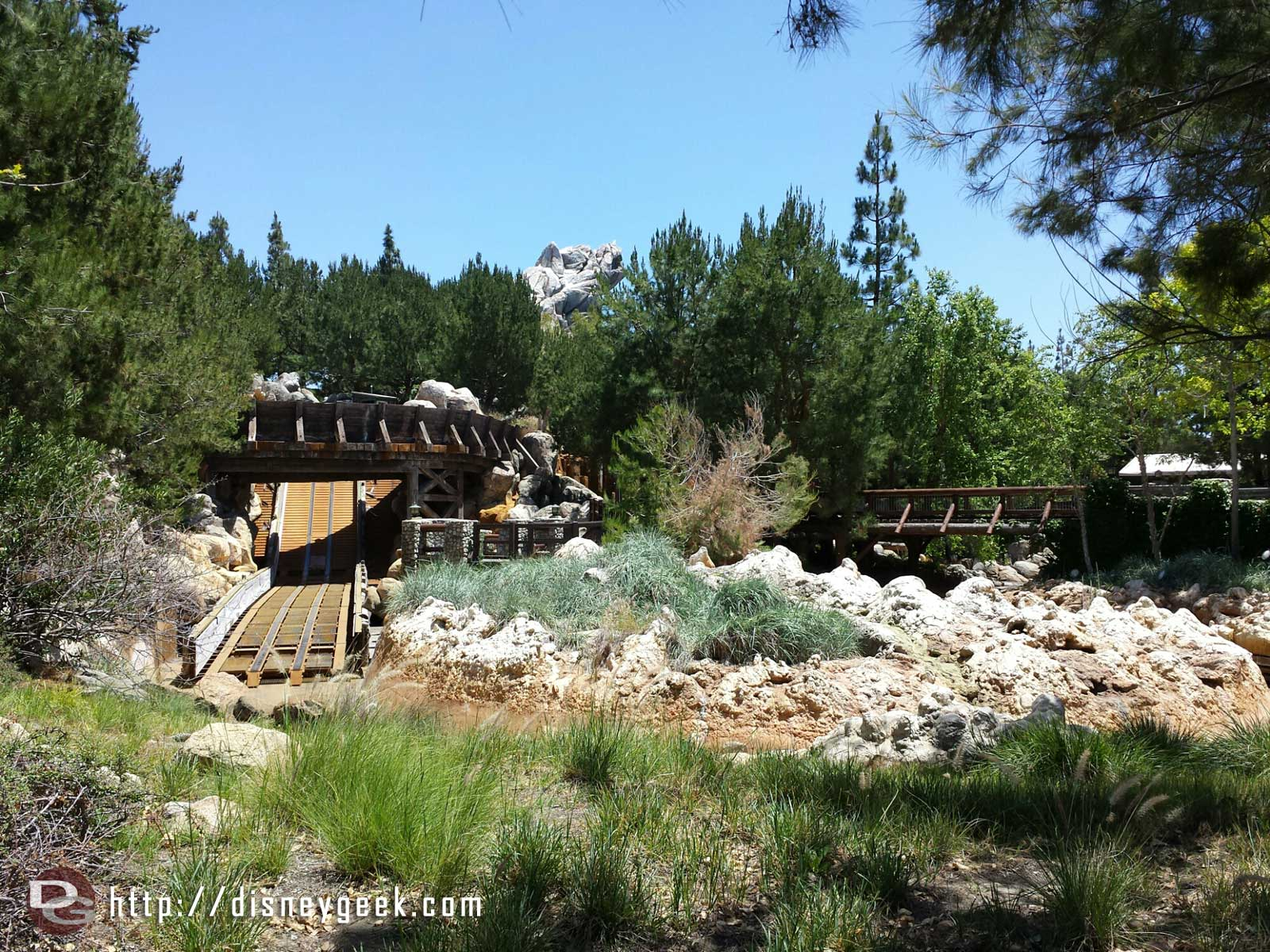 Grizzly River Run is still being worked on and closed