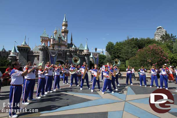 2014 All-American College Band - Castle Performance