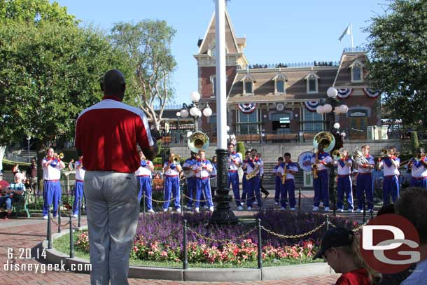 2014 All-American College Band - Flag Retreat Ceremony