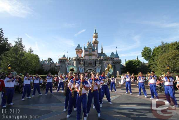Disneyland All-American College Band – 2014 Season Kicks off Thursday (Schedule for this year & some of my pics/videos from past years)
