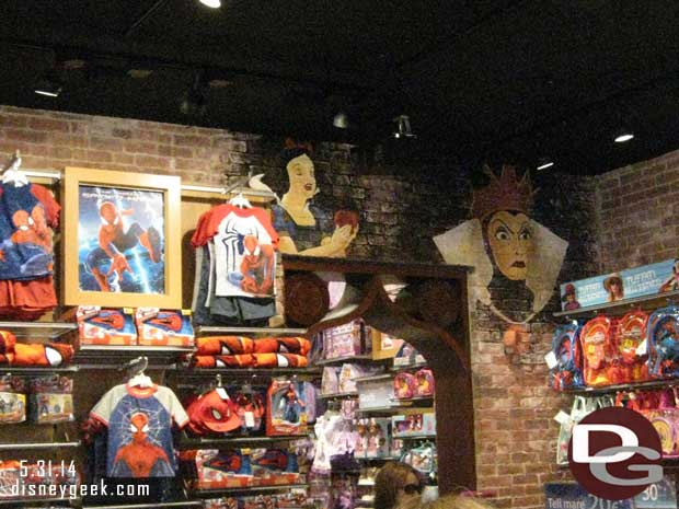 The Disney Store in Venice, Italy (guest pictures)