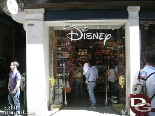 The Disney Store Italia Srl