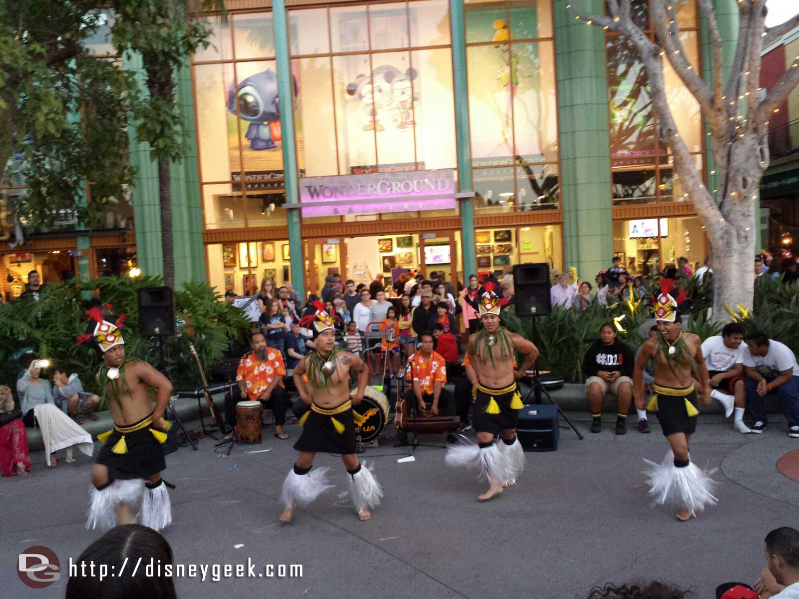 Aulani & Downtown Disney are presenting dances from various islands of the Pacific