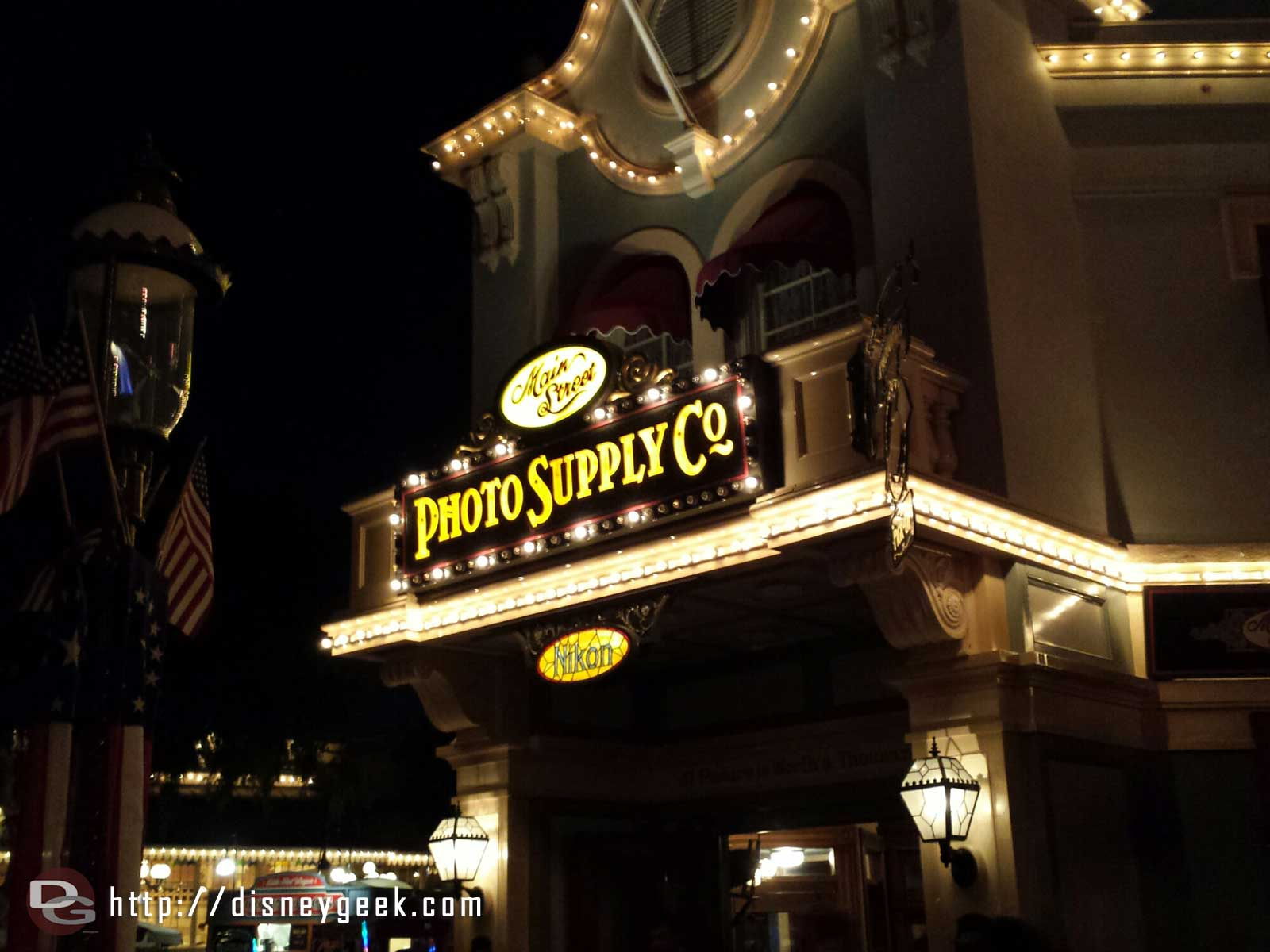 Main Street Photo Supply Co #Disneyland