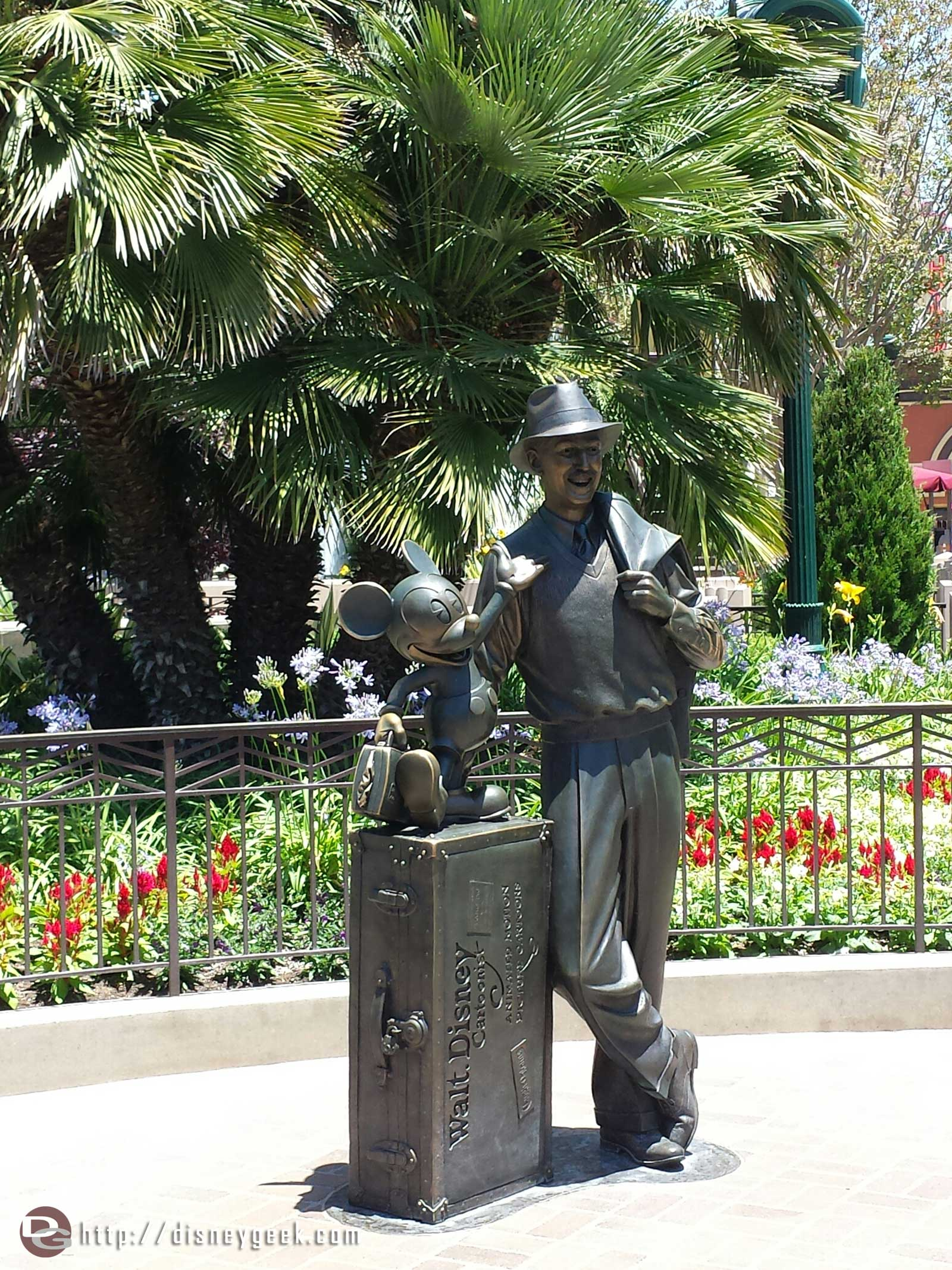 Passing by the  Storytellers statue on #BuenaVistaStreet