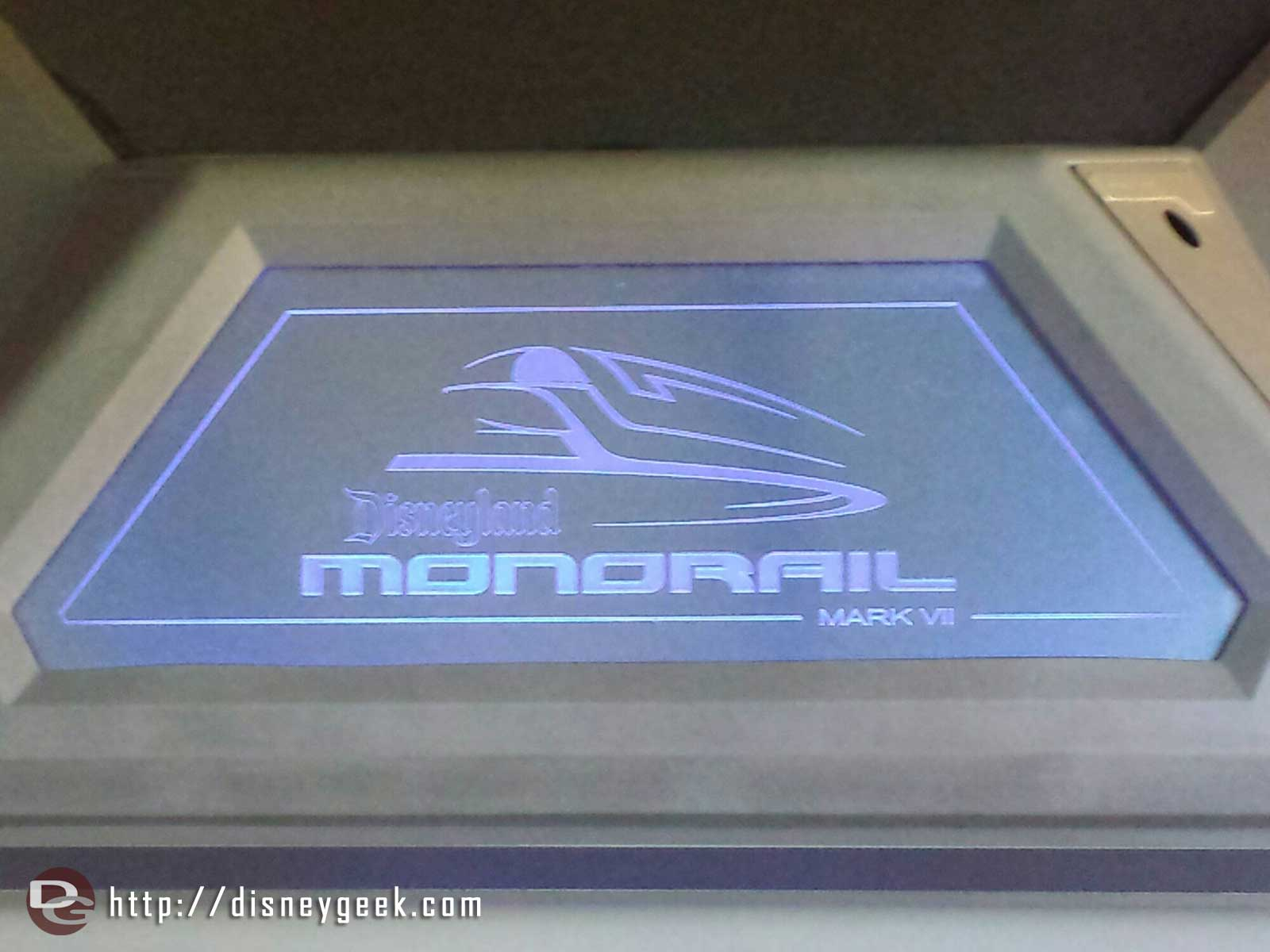 #Disneyland Monorail Mark VII sign