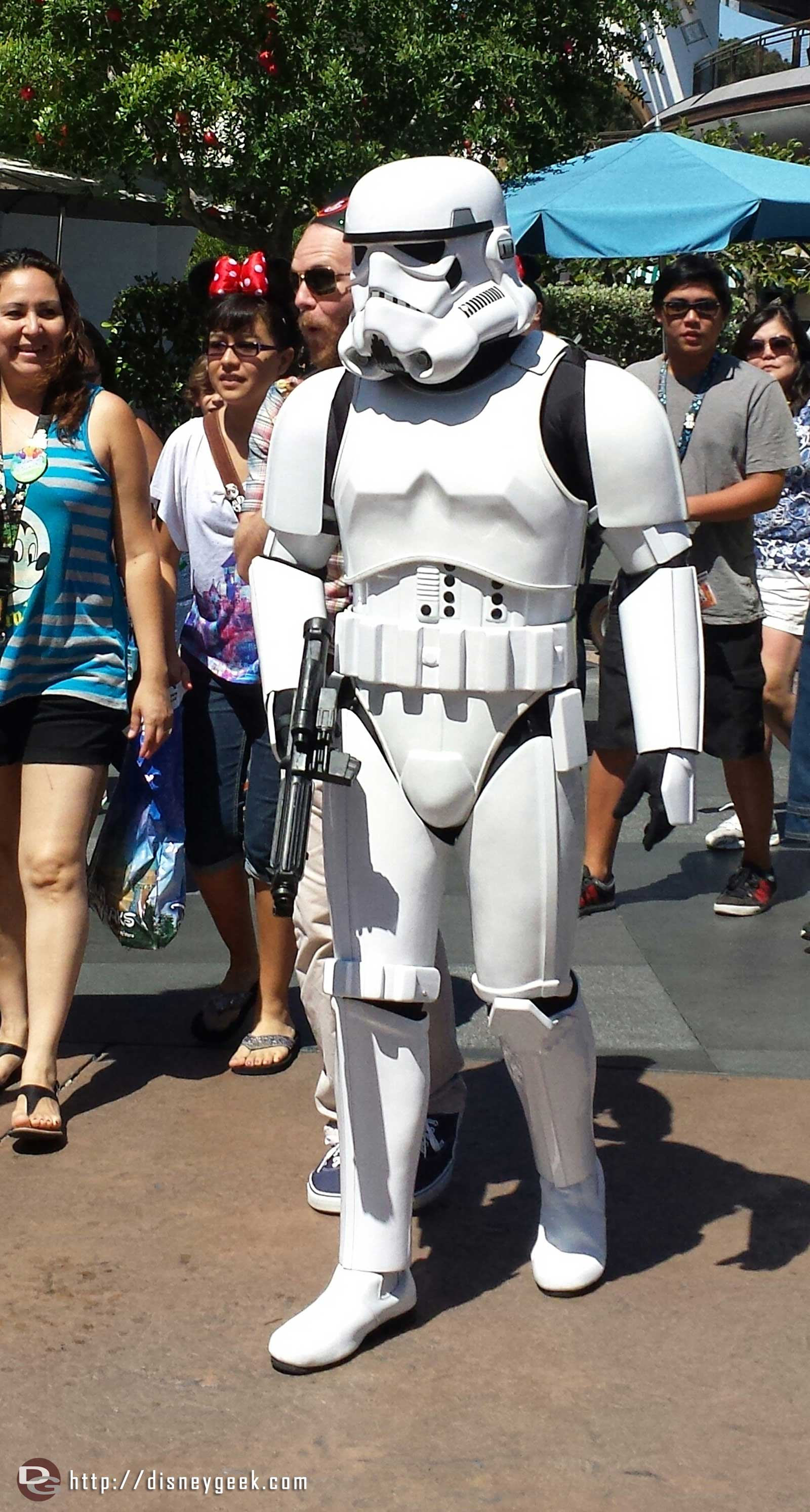 Spotted a couple of storm troopers patrolling Tomorrowland