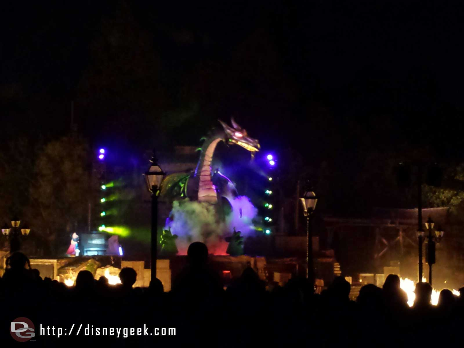 Fantasmic!  Maleficent dragon #Disneyland