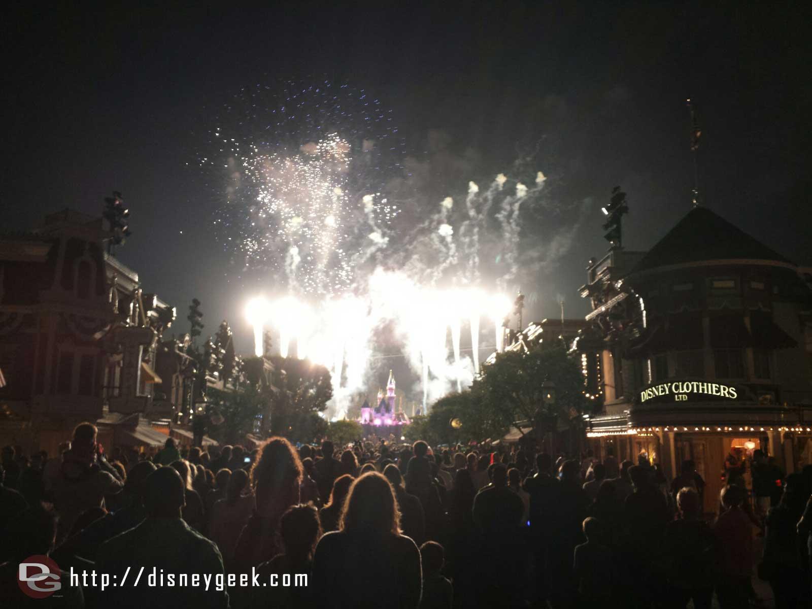 Magical finale #Disneyland