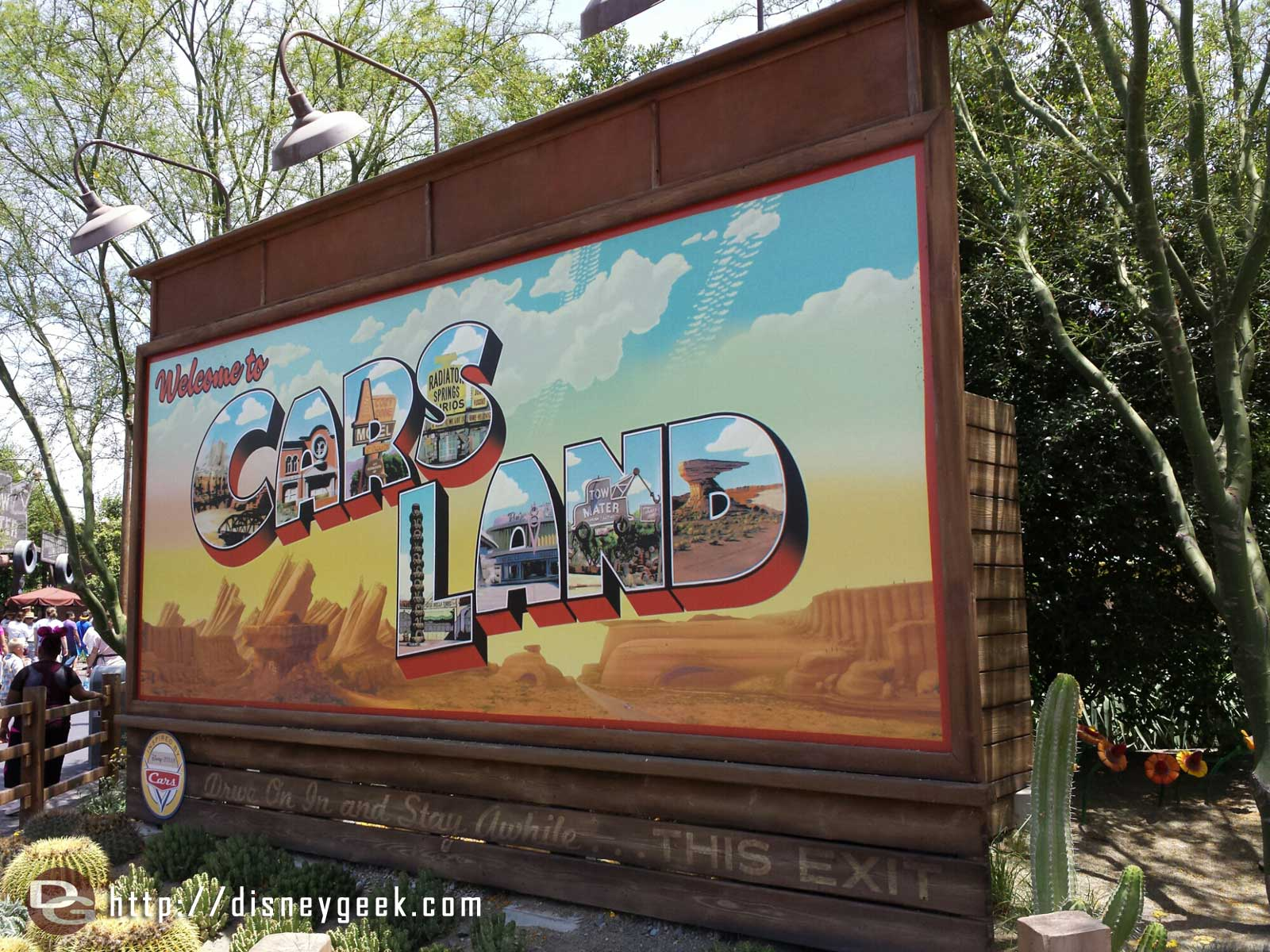 Welcome to #CarsLand