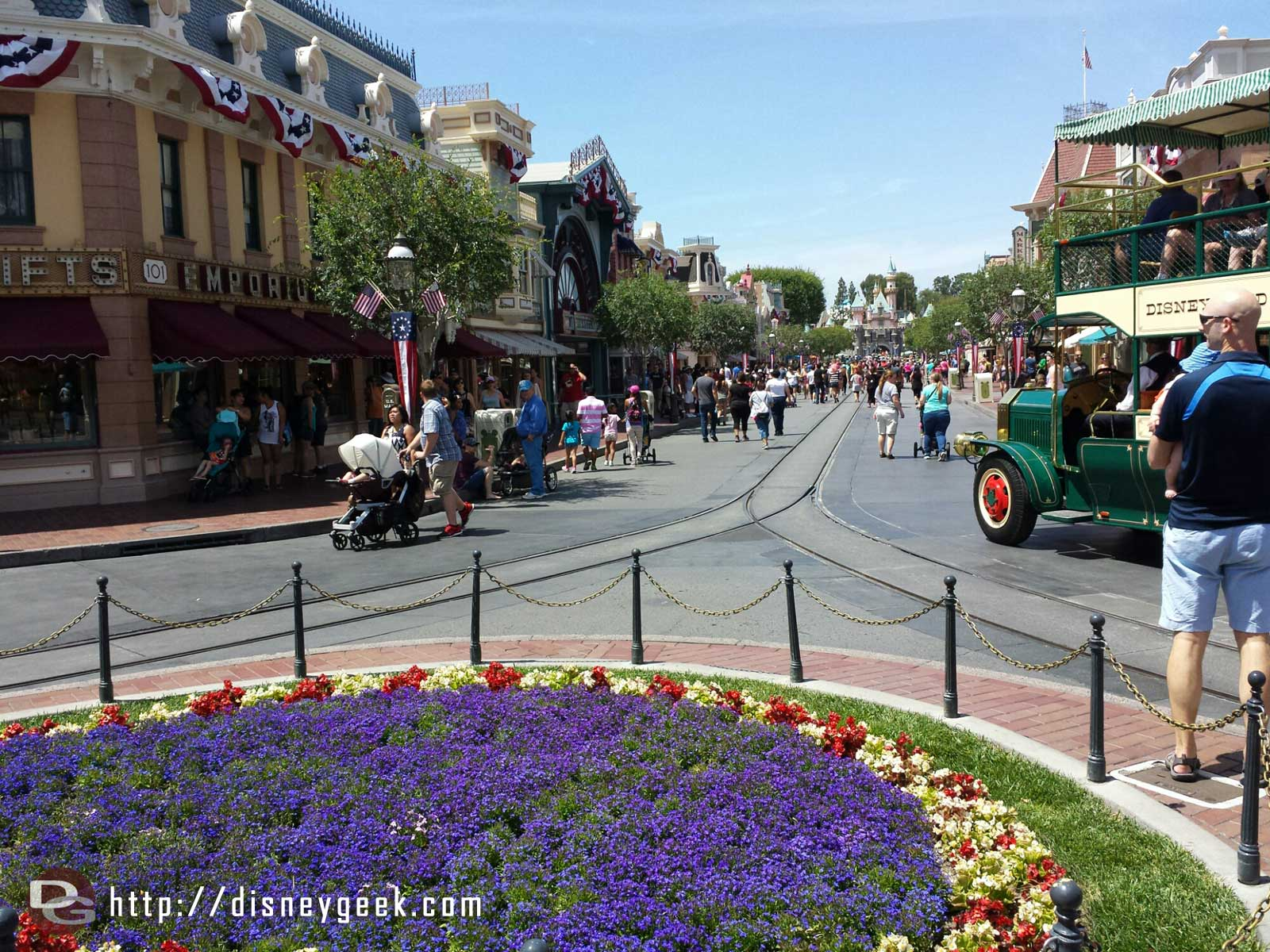 Main Street USA #Disneyland