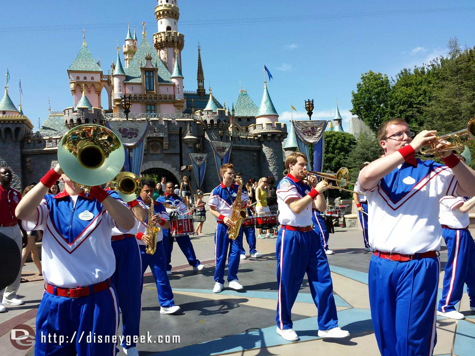 2014 All American College Band 3:25pm Castle Set