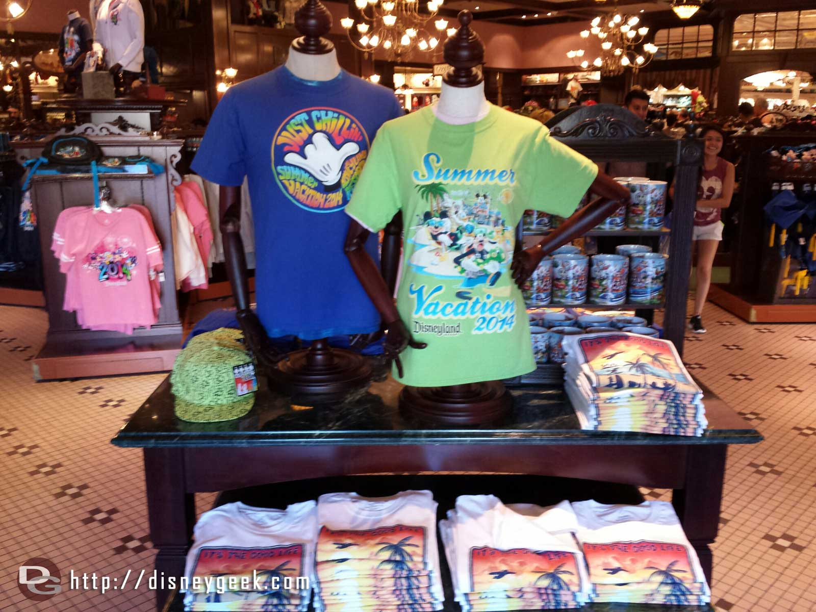 Summer Vacation 2014 merchandise in the Emporium