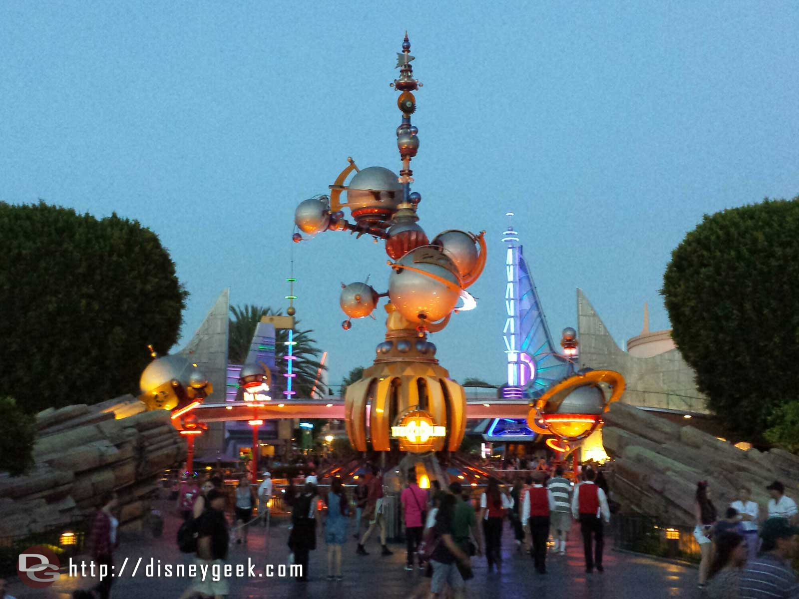 #Disneyland Tomorrowland entrance