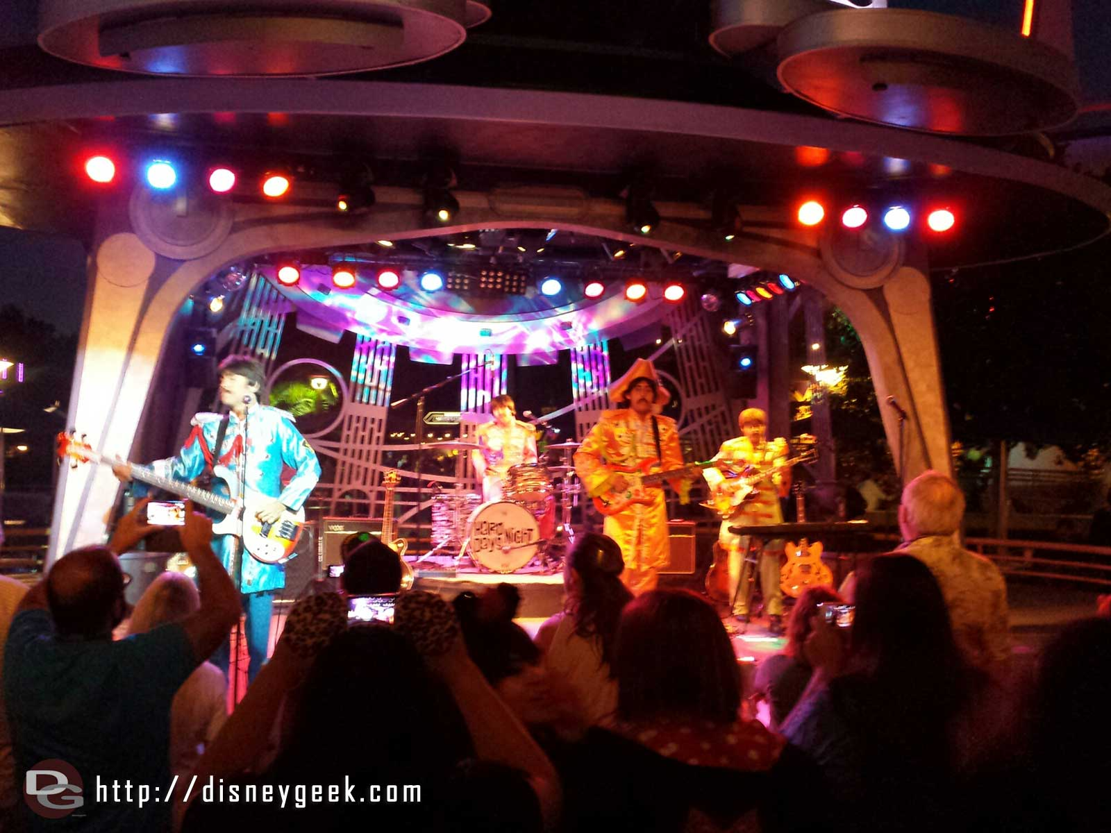 Hard Days Night performing at Tomorrowland Terrace tonight