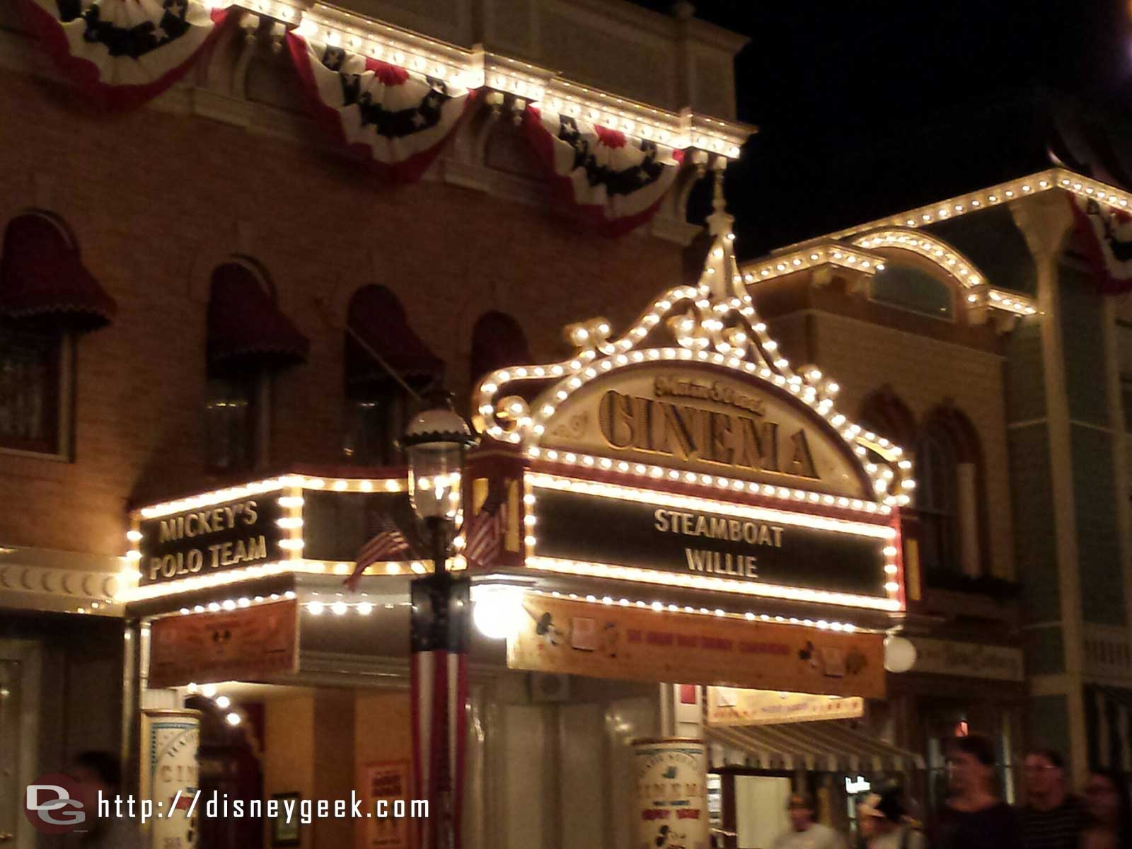 Main Street Cinema #Disneyland