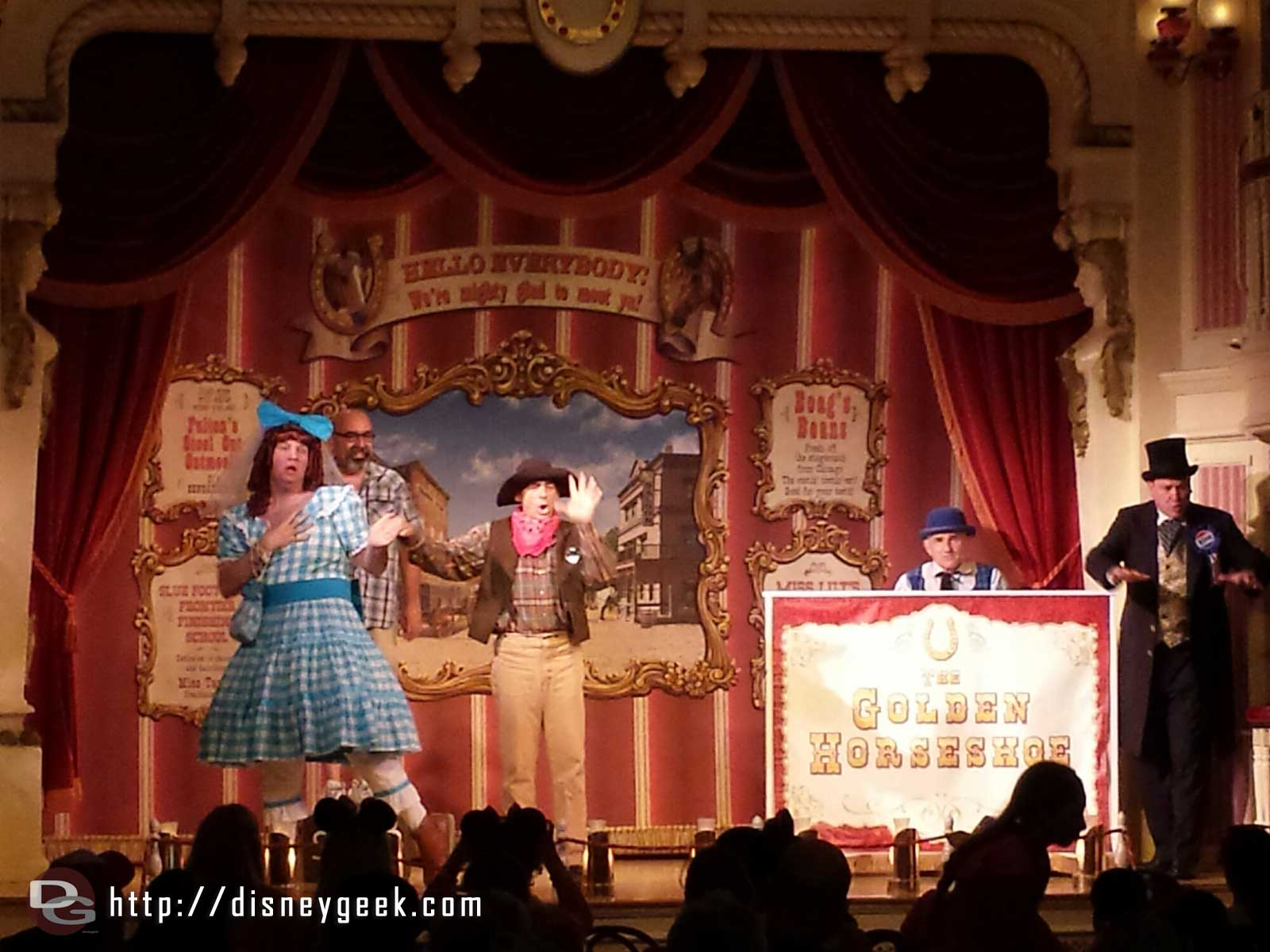 Laughing Stock Co in the Golden Horseshoe they end their run on July 8th