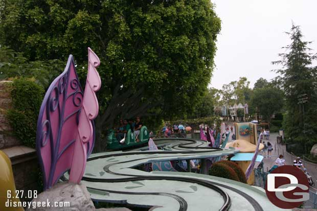 2008 Alice in Wonderland Outdoor Track
