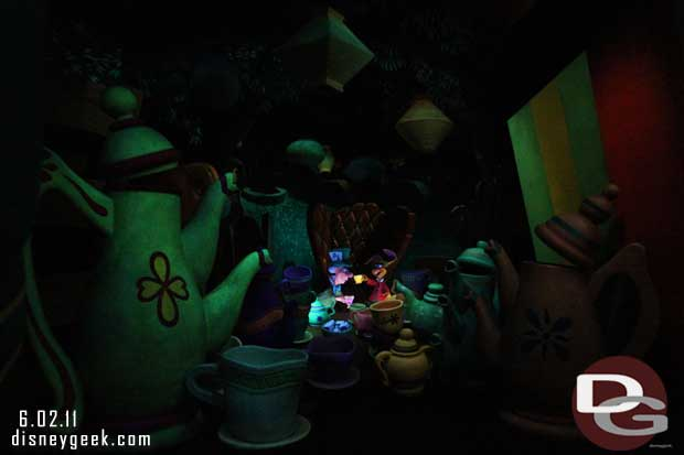 Alice in Wonderland - Disneyland - 2011