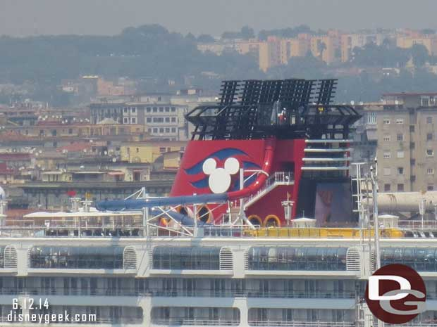 Disney Magic in Naples, Italy