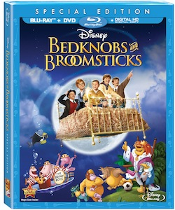 Bedknobs & Broomsticks on Blu-Ray August 12, 2014