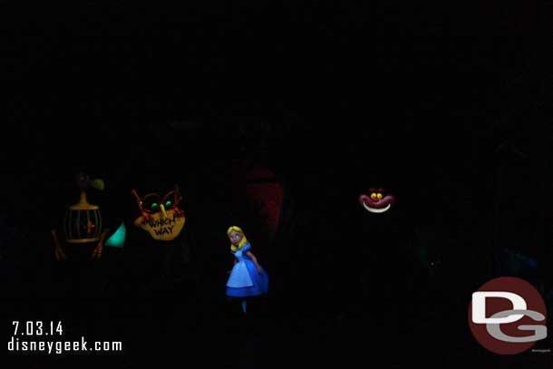 Alice in Wonderland - Disneyland - 2014