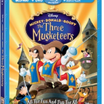 Mickey, Donald, Goofy: Three Musketeerson Blu-Ray August 12, 2014