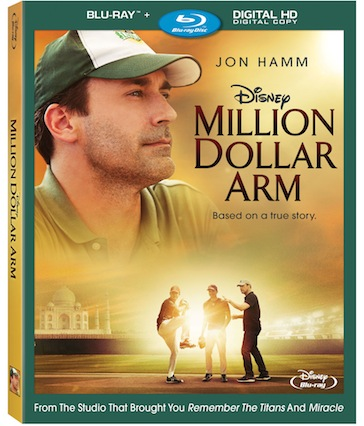 Disney's Million Dollar Arm Blu-ray