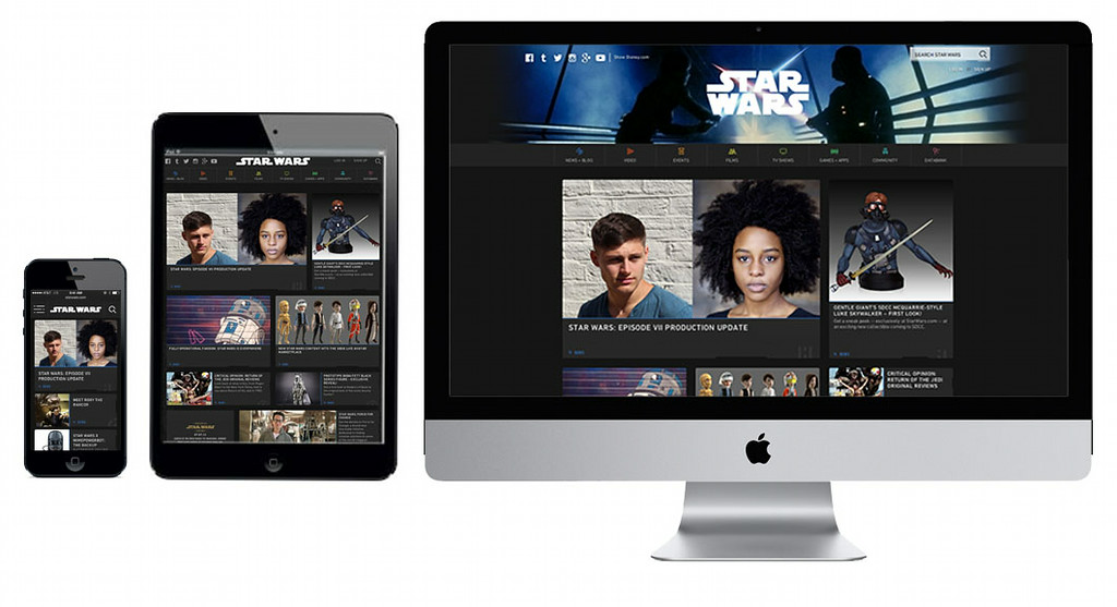 New starwars.com site