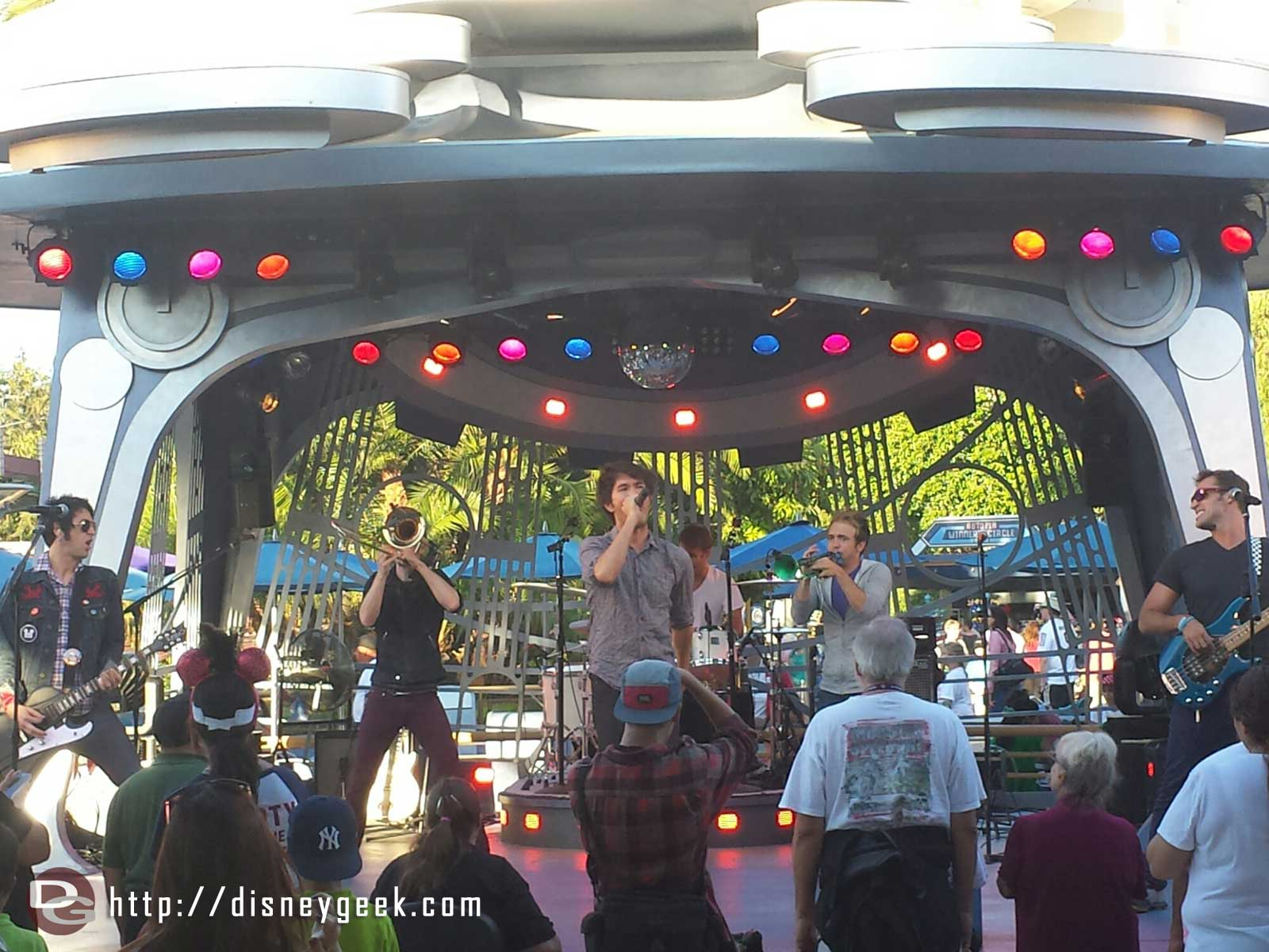 Suburban Legends performing at Tomorrowland Terrace tonight