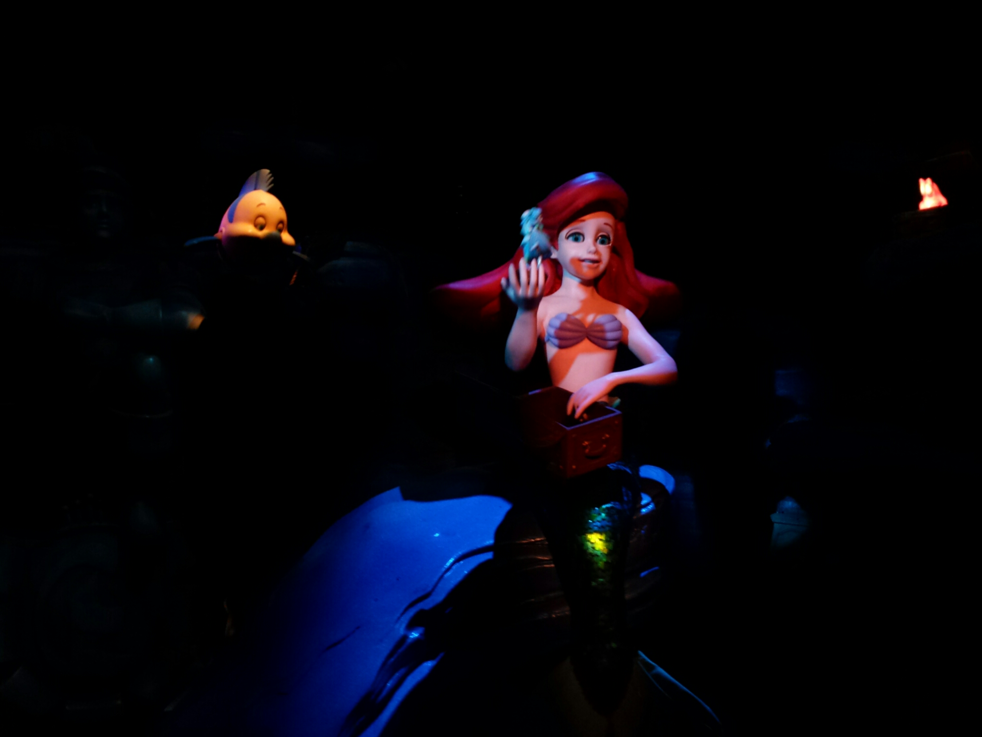 Ariel in the Part of Your World scene