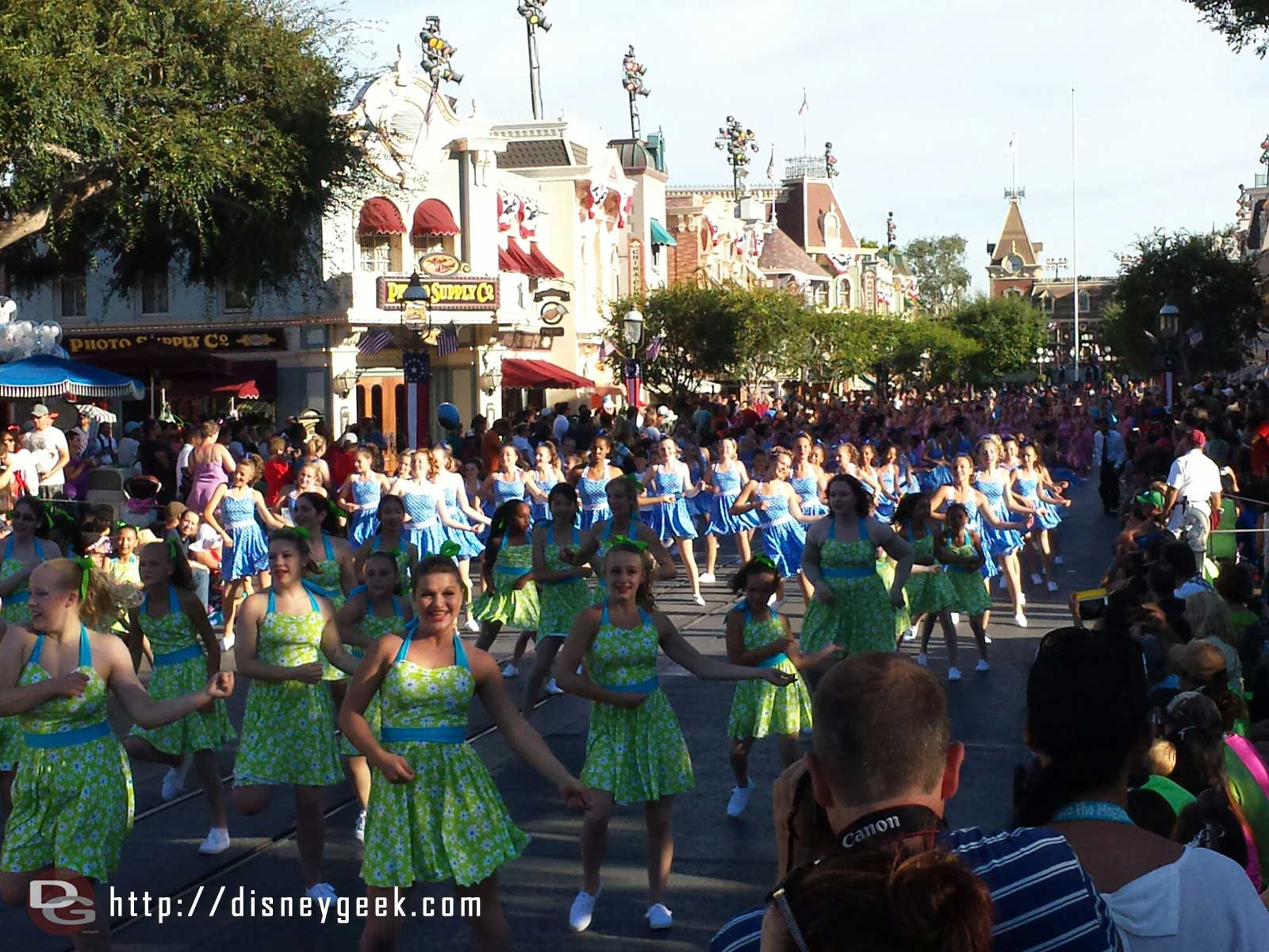Dance the Magic filling Main Street USA with approx 700 dancers if I heard correctly