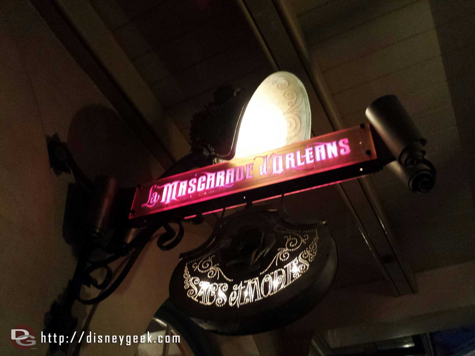 The new Le Mascarade d Orleans is open