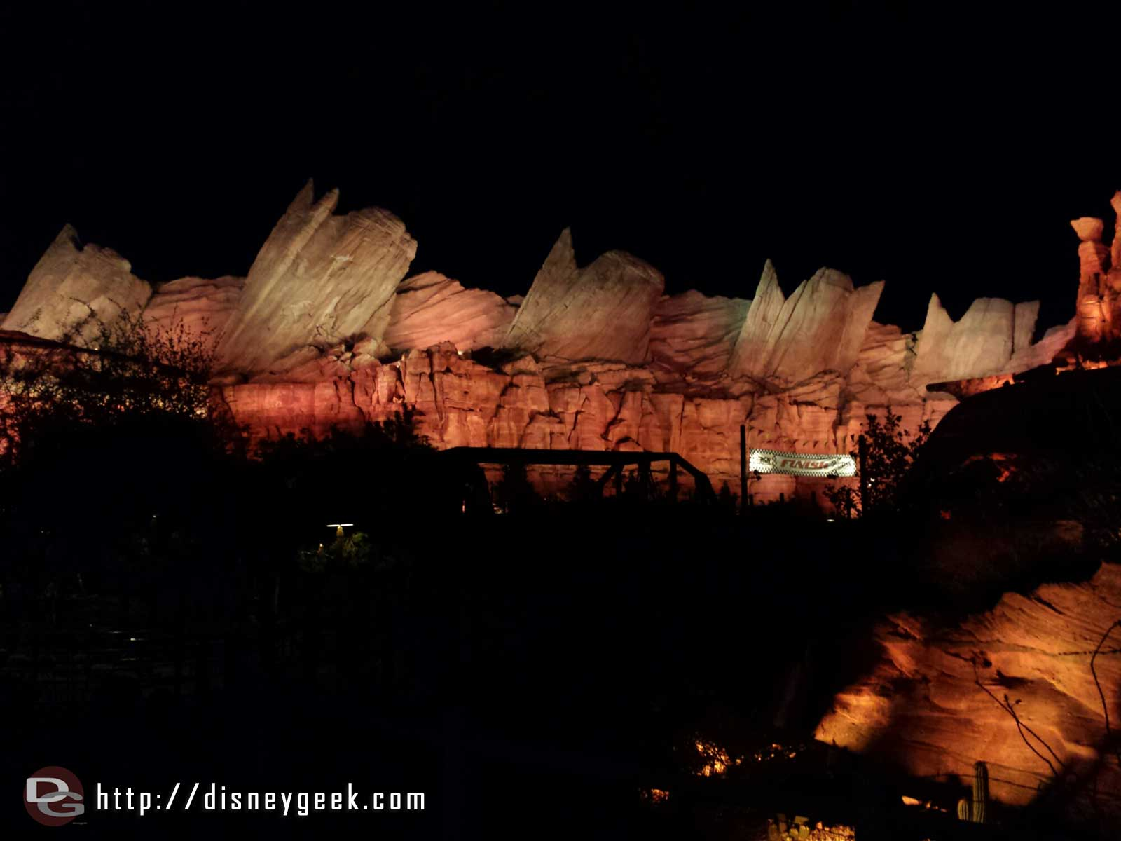 The Cadillac Range Ornament Valley #CarsLand