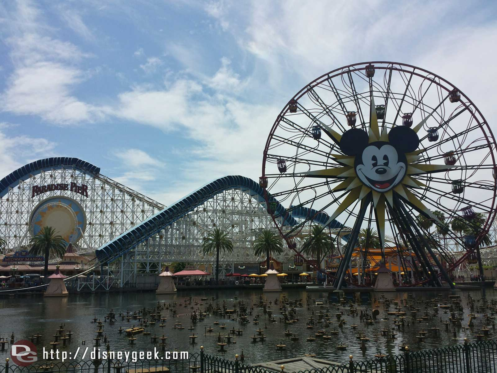 Paradise Pier Disney California Adventure