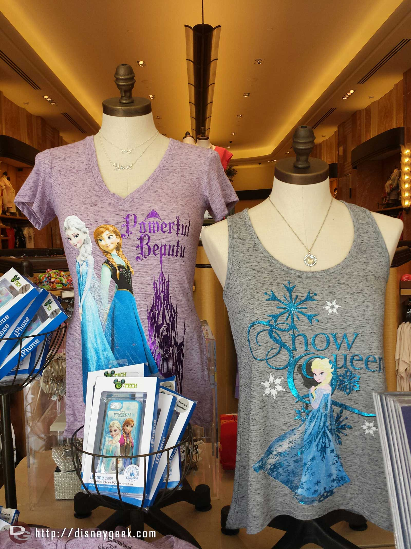 Walking through Elias & Co and noticed this Elsa shirt calling her the Snow Queen #Frozen