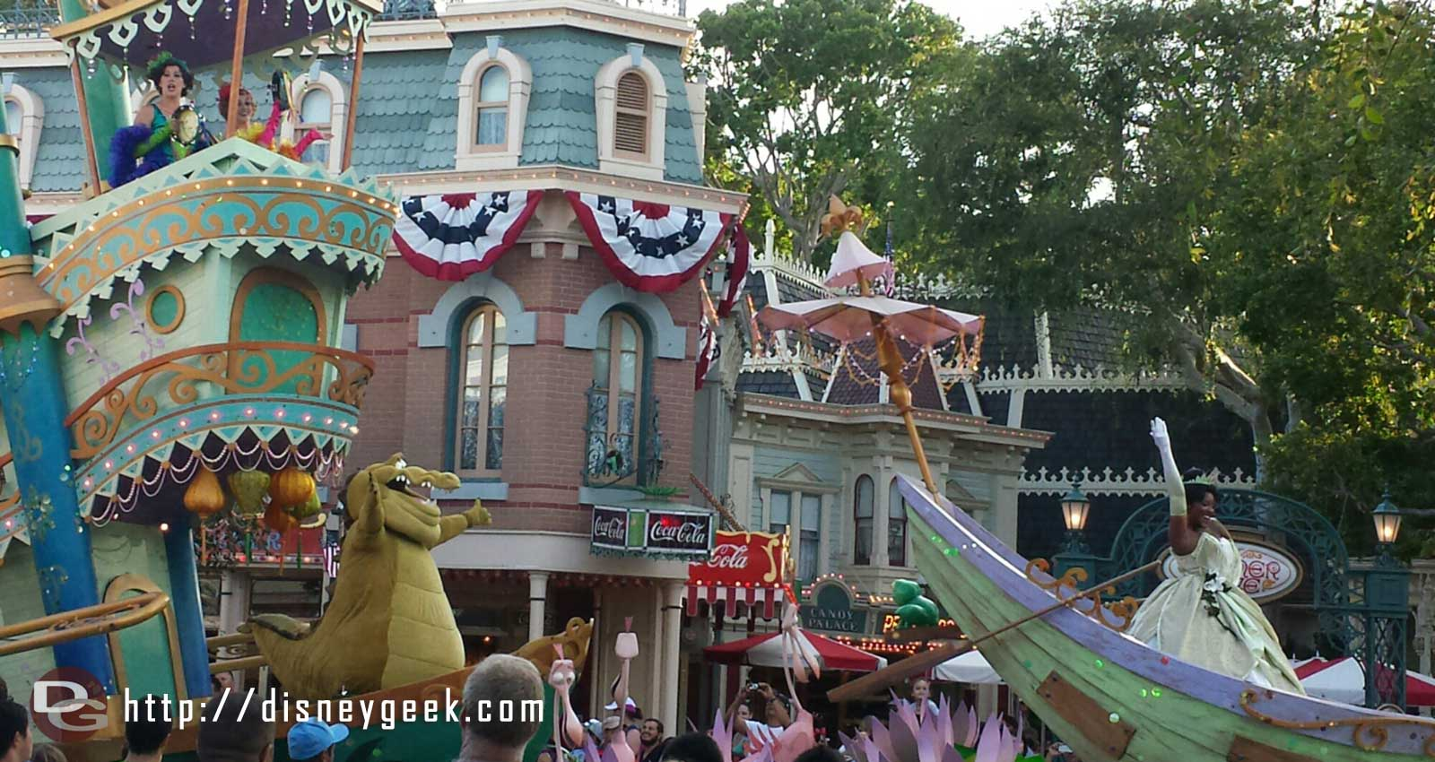 Mickey's Soundsational Parade – Princess and the Frog group
