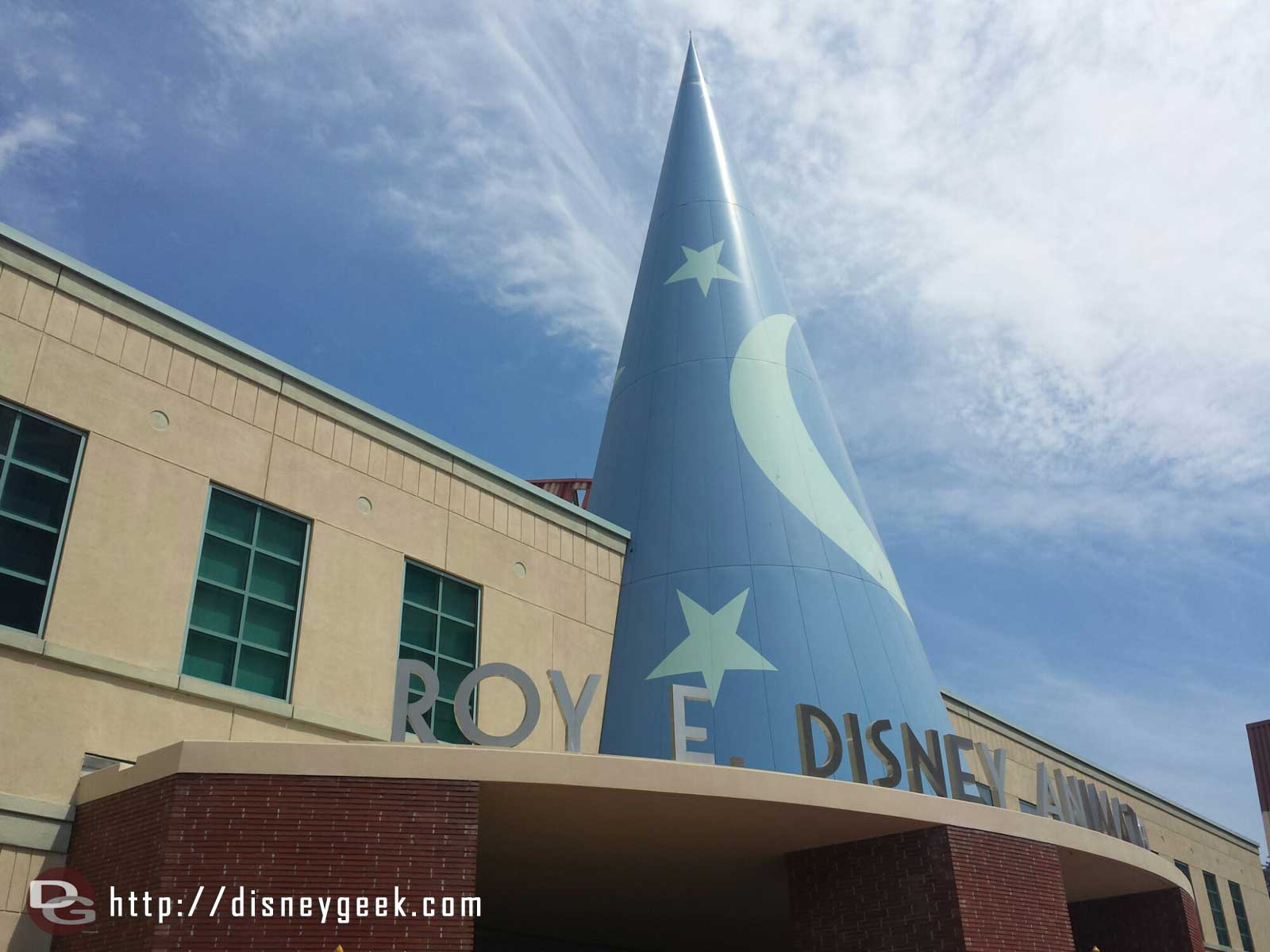 I spent the day today in the Roy E Disney Animation building learning about #BigHero6