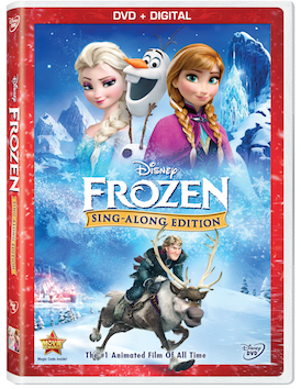 Frozen Sing-Along Edition  Arriving on DVD and Digital – November 18