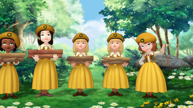 Sofia the First The Enchanted Feast - The Buttercups