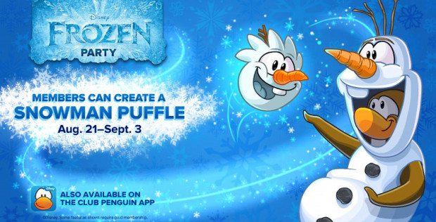 Disney Club Penguin - Frozen