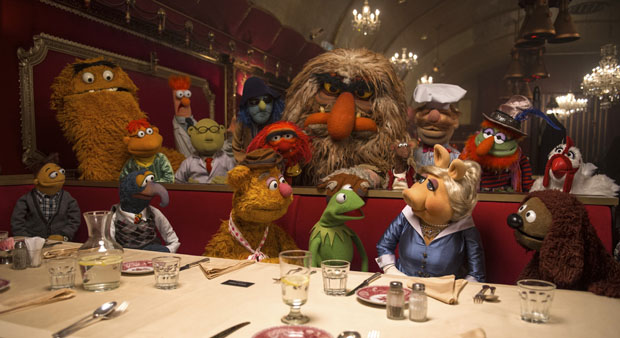 """MUPPETS MOST WANTED"" (Pictured) THE MUPPETS. Photo by: Jay Maidment. ?2014 Disney Enterprises, Inc. All Rights Reserved."