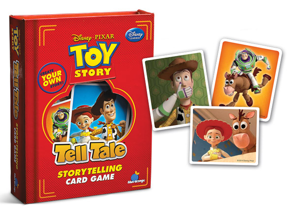 Tell Tale Toy Story Storytelling Card Game Review