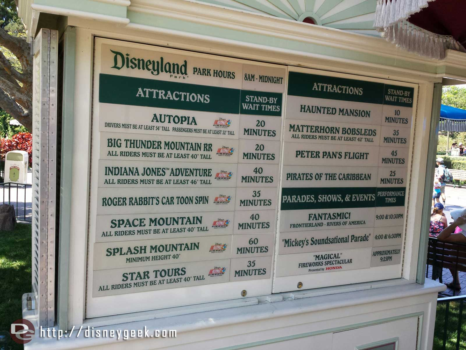 #Disneyland waits as of 3:00pm