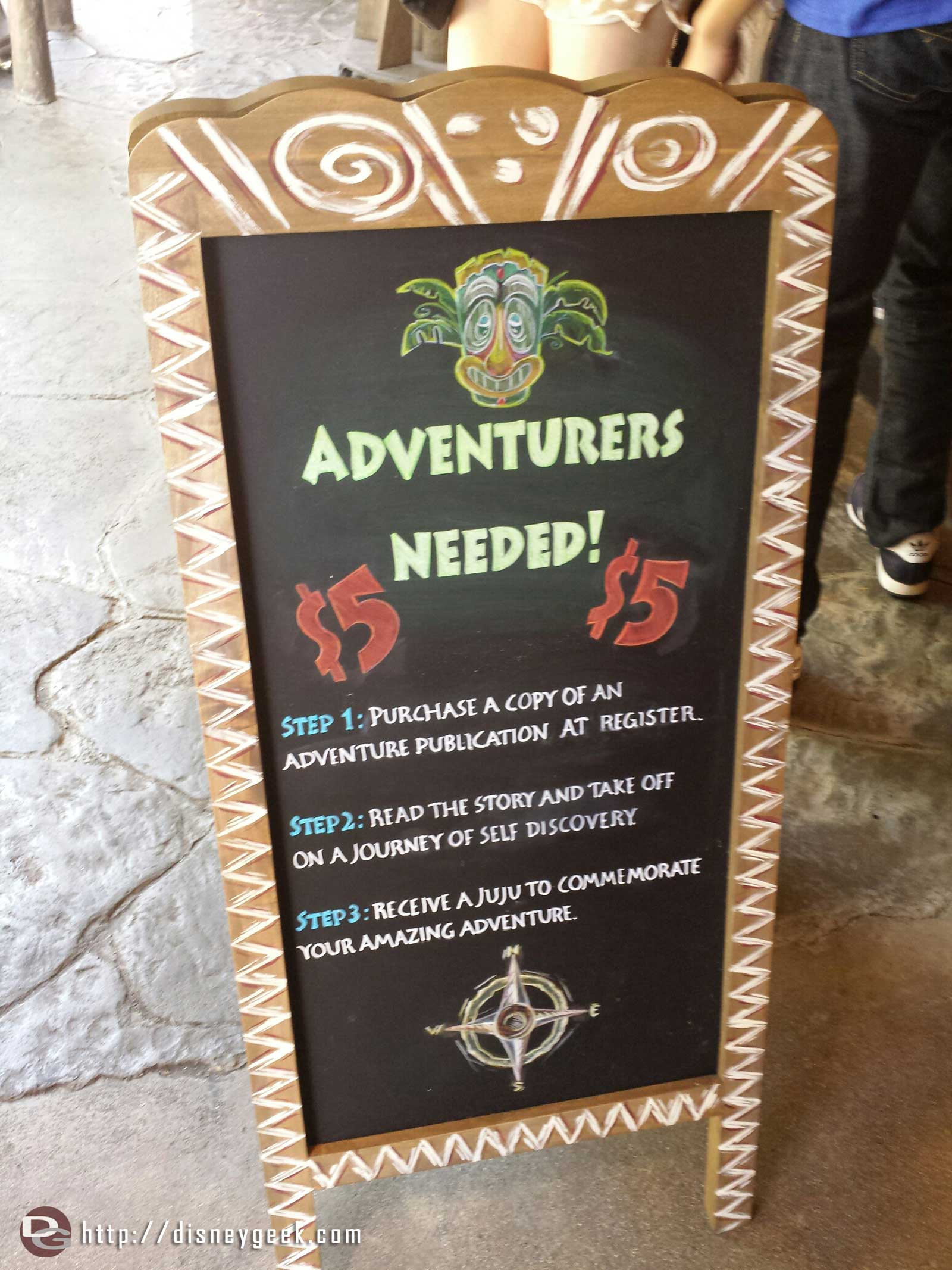 The Adventure Trading Co procedures