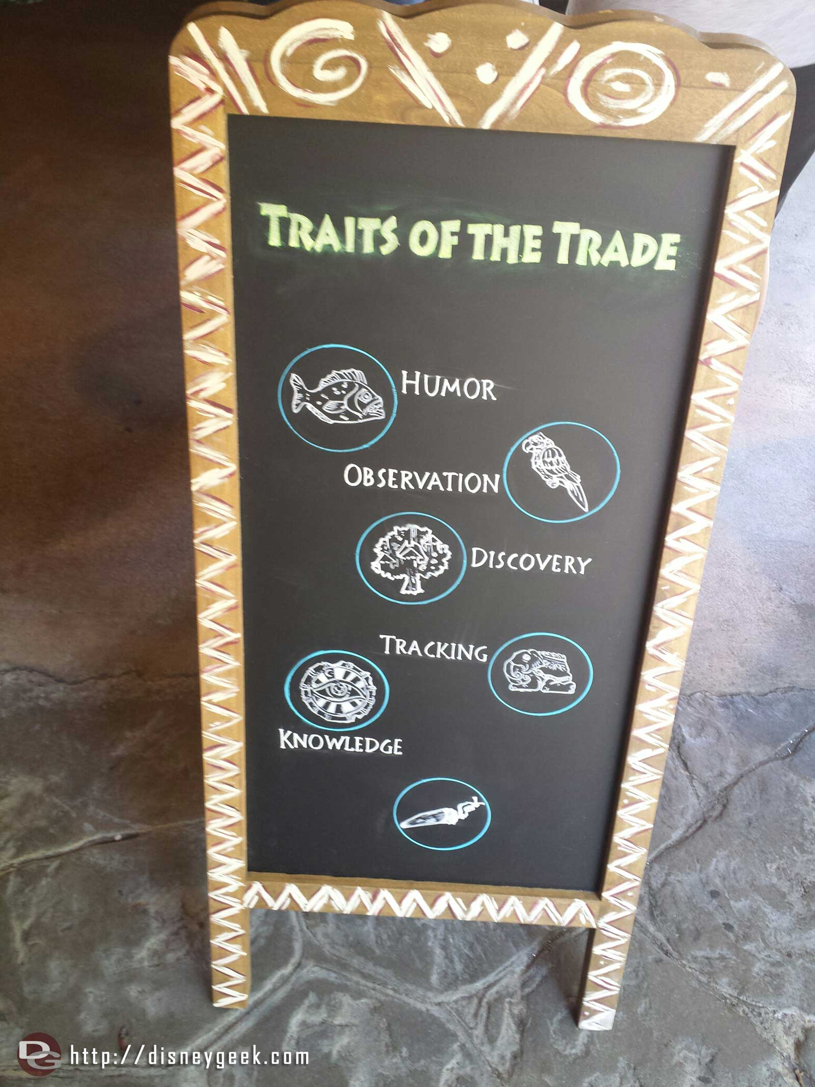 Traits of the trade (the JuJus) Adventure Trading Co