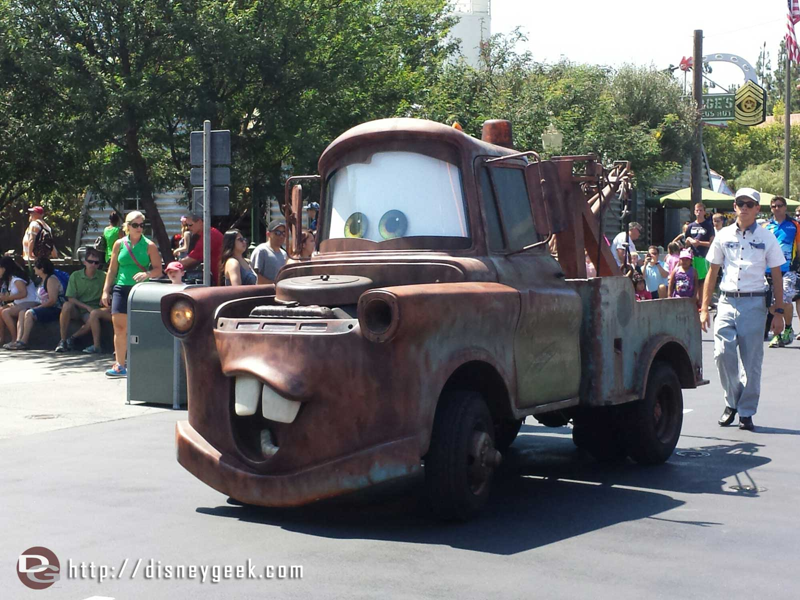 Mater on Route 66 #CarsLand