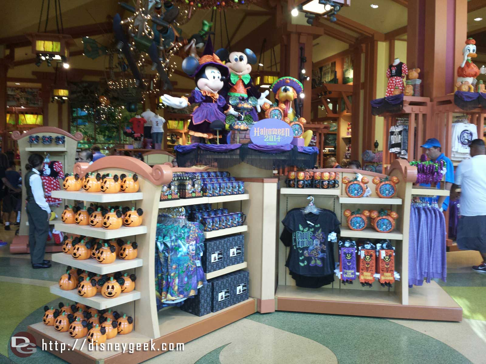 Halloween merchandise is out at World of Disney