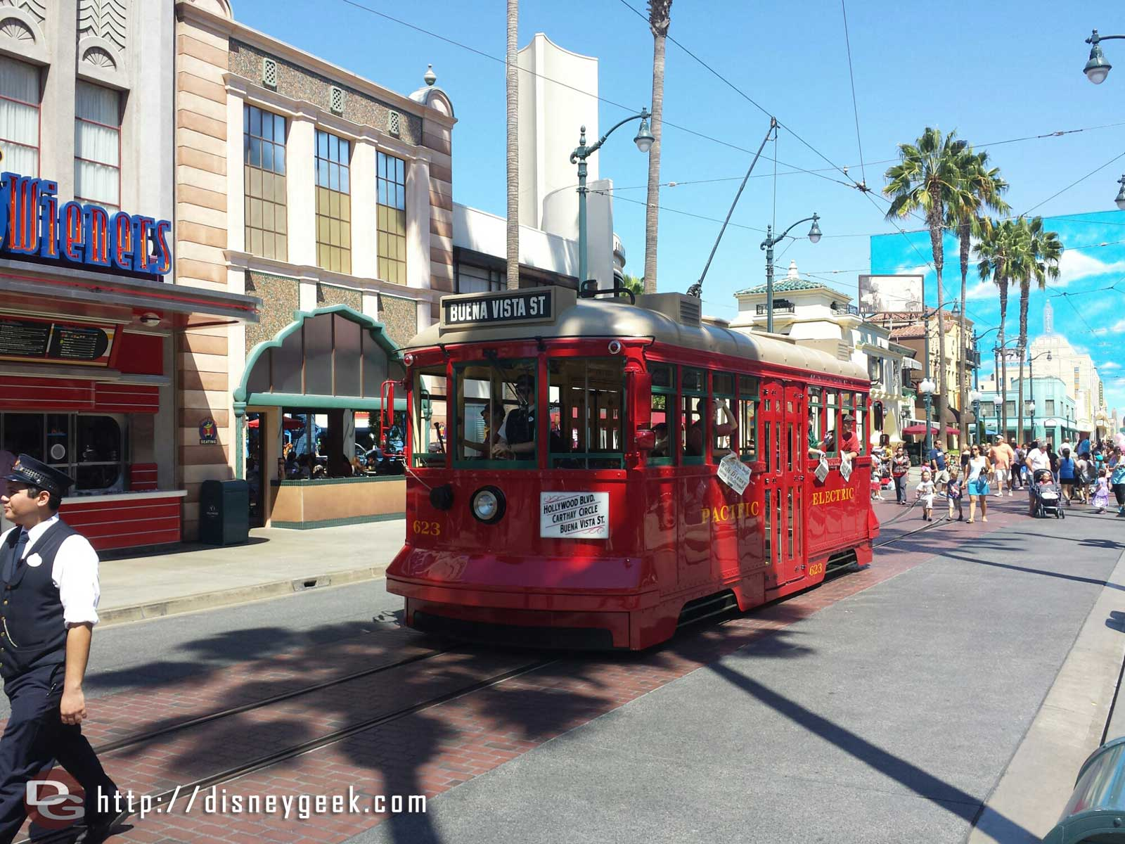 The Red Car News Boys heading to Carthay Circle for a performance