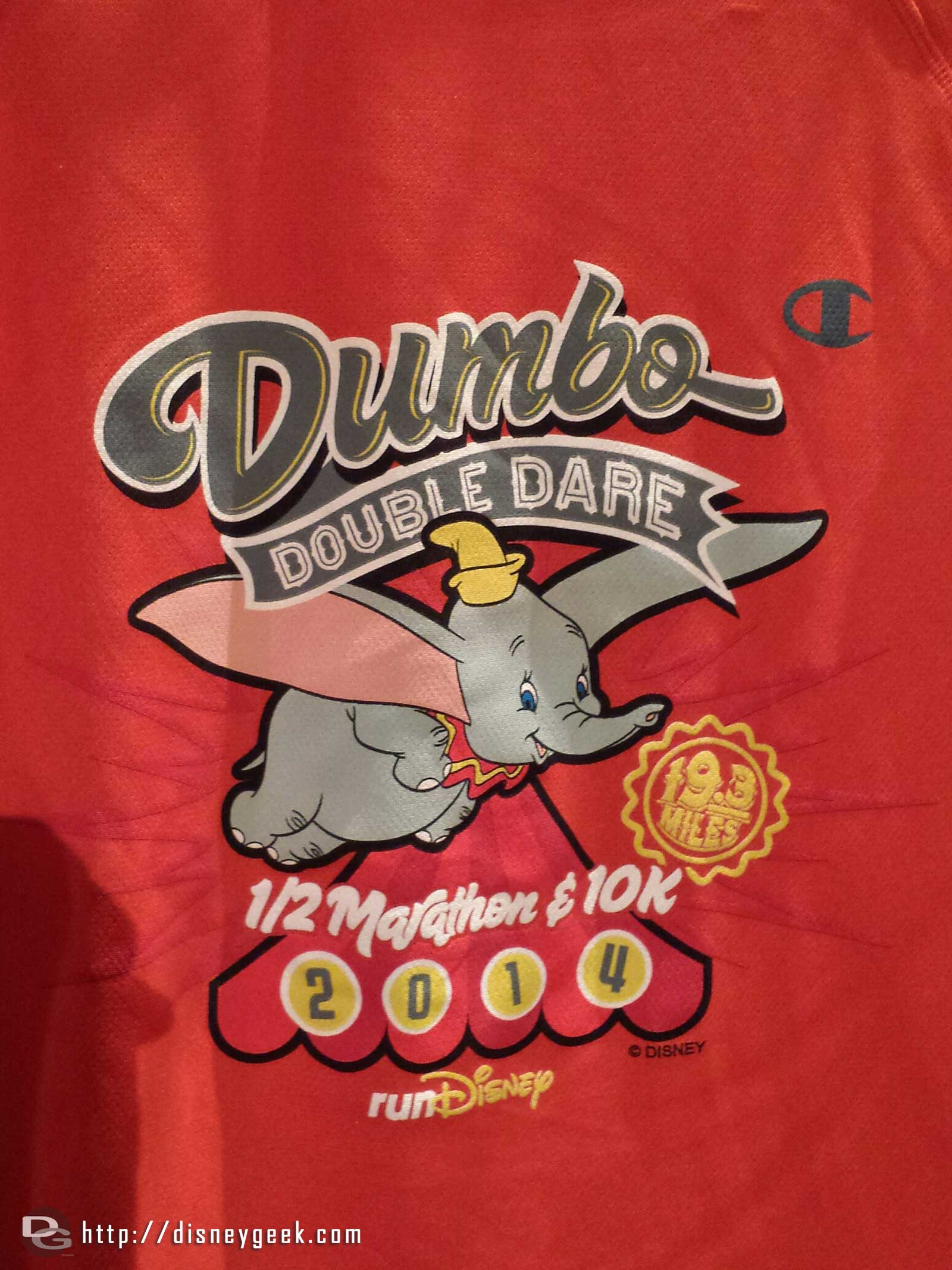 The Dumbo Double Dare shirt/logo